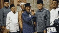 Silaturahmi di Pesantren Cipasung, KH Asep Maoushul Ajak KH Acep Adang Berkolaborasi