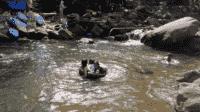 Sungai Ciharus Tempat Wisata dengan Sensasi Nasi Liwet Khas