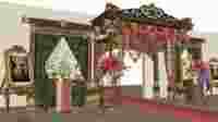 Keraton Raja Galuh (ilustrasi)