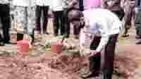 Revitalisasi Situs Jambansari Ciamis ditandai peletakan batu pertama oleh Bupati Ciamis Herdiat Sunarya